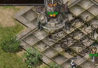 1.80复古合击的神龙祭坛里有大量变异怪物